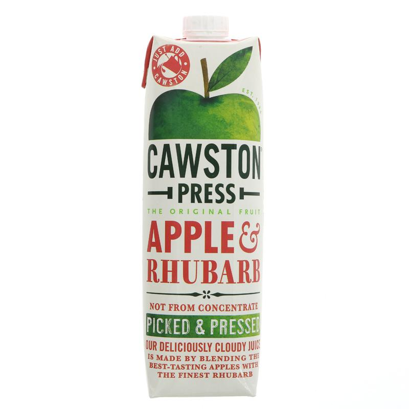 Cawston Press Juice Apple & Rhubarb