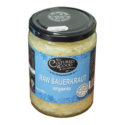 Organic Cultured Food Company Natural Raw Sauerkraut